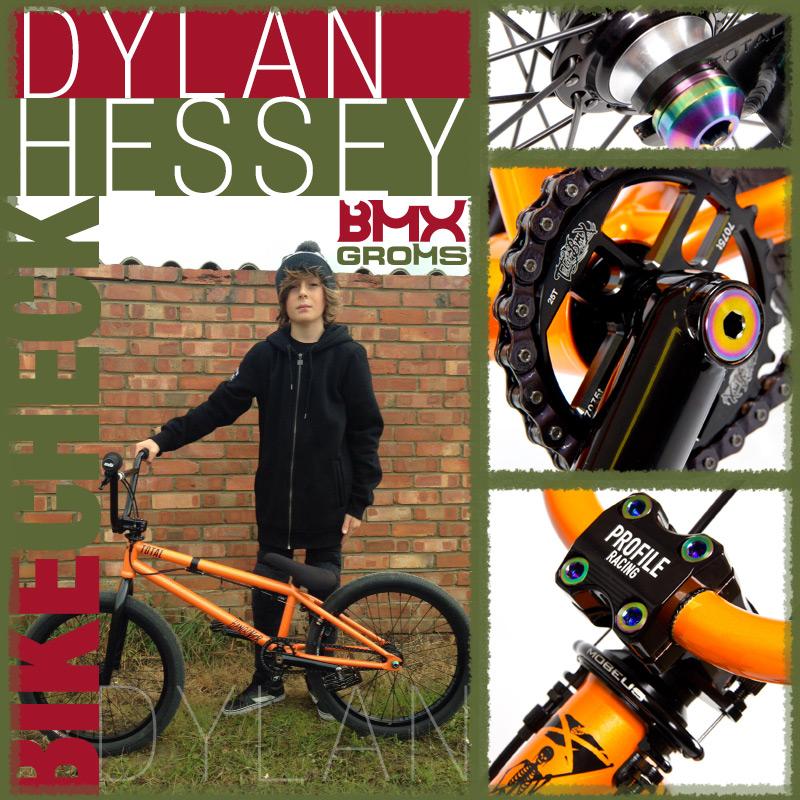Dylan Hessey Total BMX Hangover BMX Bike Check