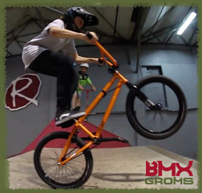 Dylan Hessey Seat Manual BMX Grom