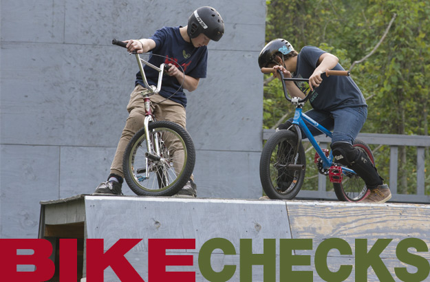 BMX Groms Bike Checks