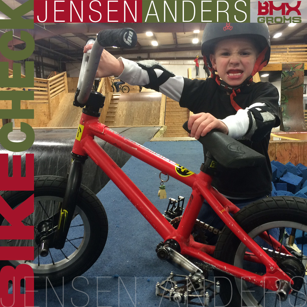 Jensen Anders 12 Inch Cult Juvi BMX Bike Check