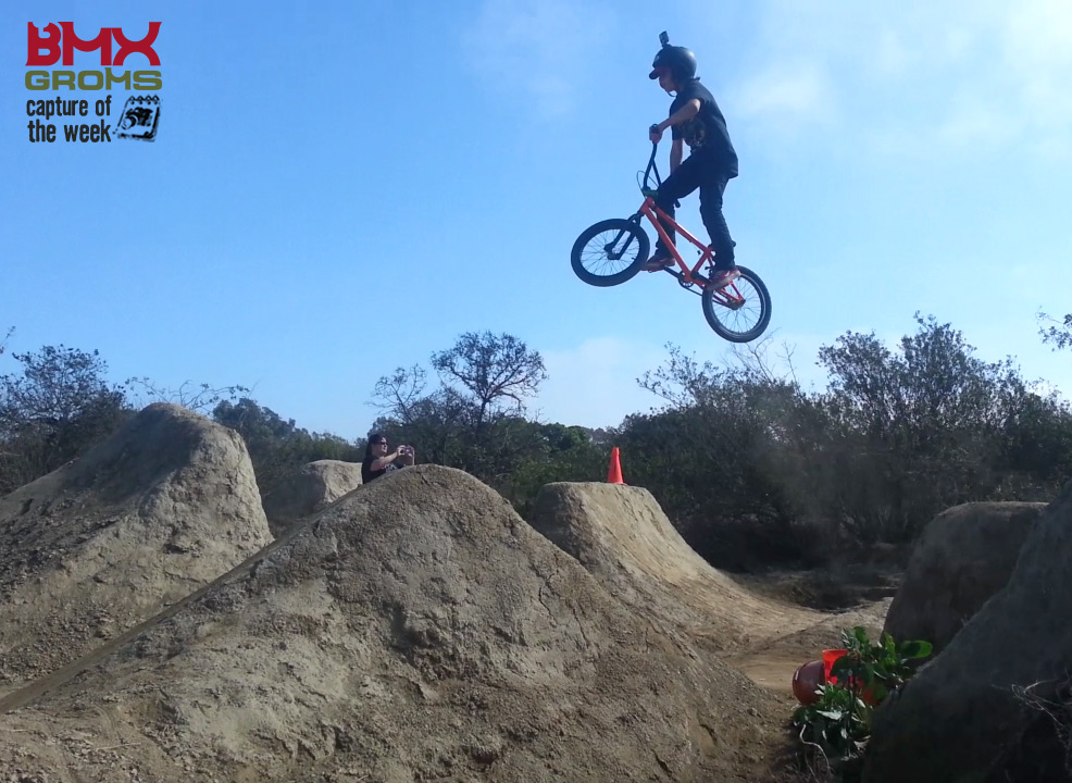 Draven Lamb BMX Groms Capture of the Week Sheephills Trails California