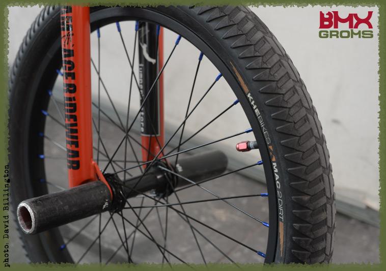 Rimu Nakamura Subrosa Pandora BMX Bike Check Forks