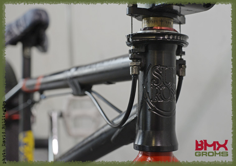 Rimu Nakamura Subrosa Pandora BMX Bike Check Headtube