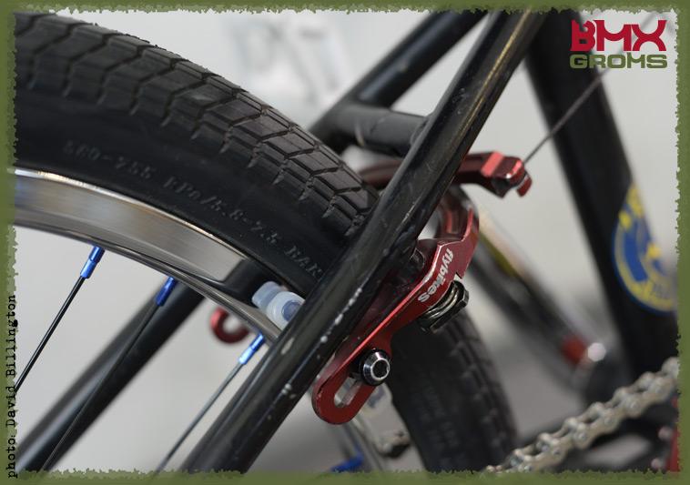Rimu Nakamura Subrosa Pandora BMX Bike Check Rear Brake Fly Bikes