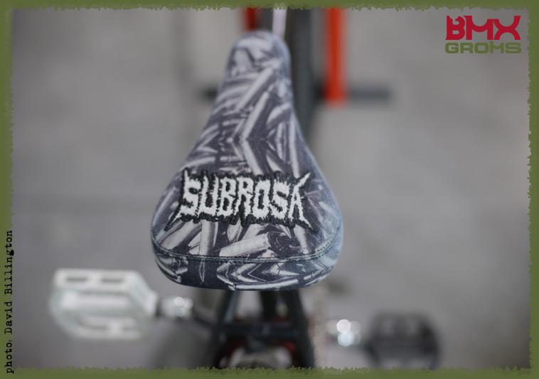 Rimu Nakamura Subrosa Pandora BMX Bike Check Seat