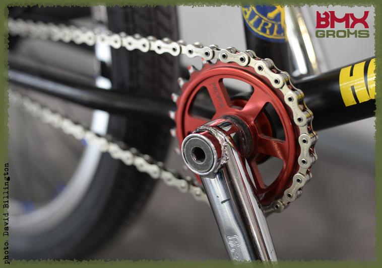Rimu Nakamura Subrosa Pandora BMX Bike Check Drivetrain