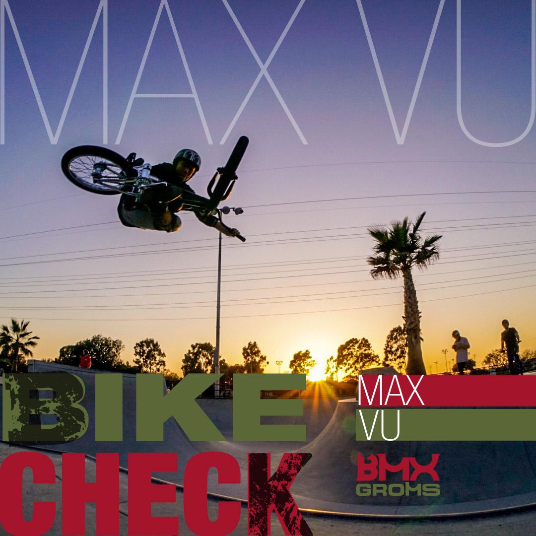 Max Vu Cult Juvi 18 Inch BMX Bike Check