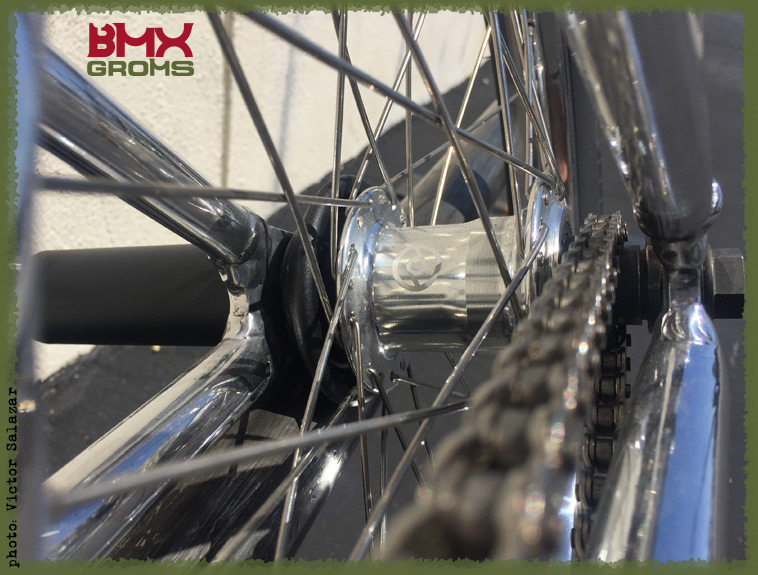 Max Vu BMX Bike Check Rear Hub