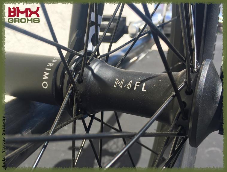 Max Vu BMX Bike Check Front Hub