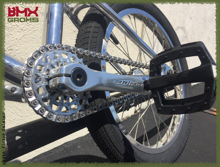 Max Vu BMX Bike Check Drive Train