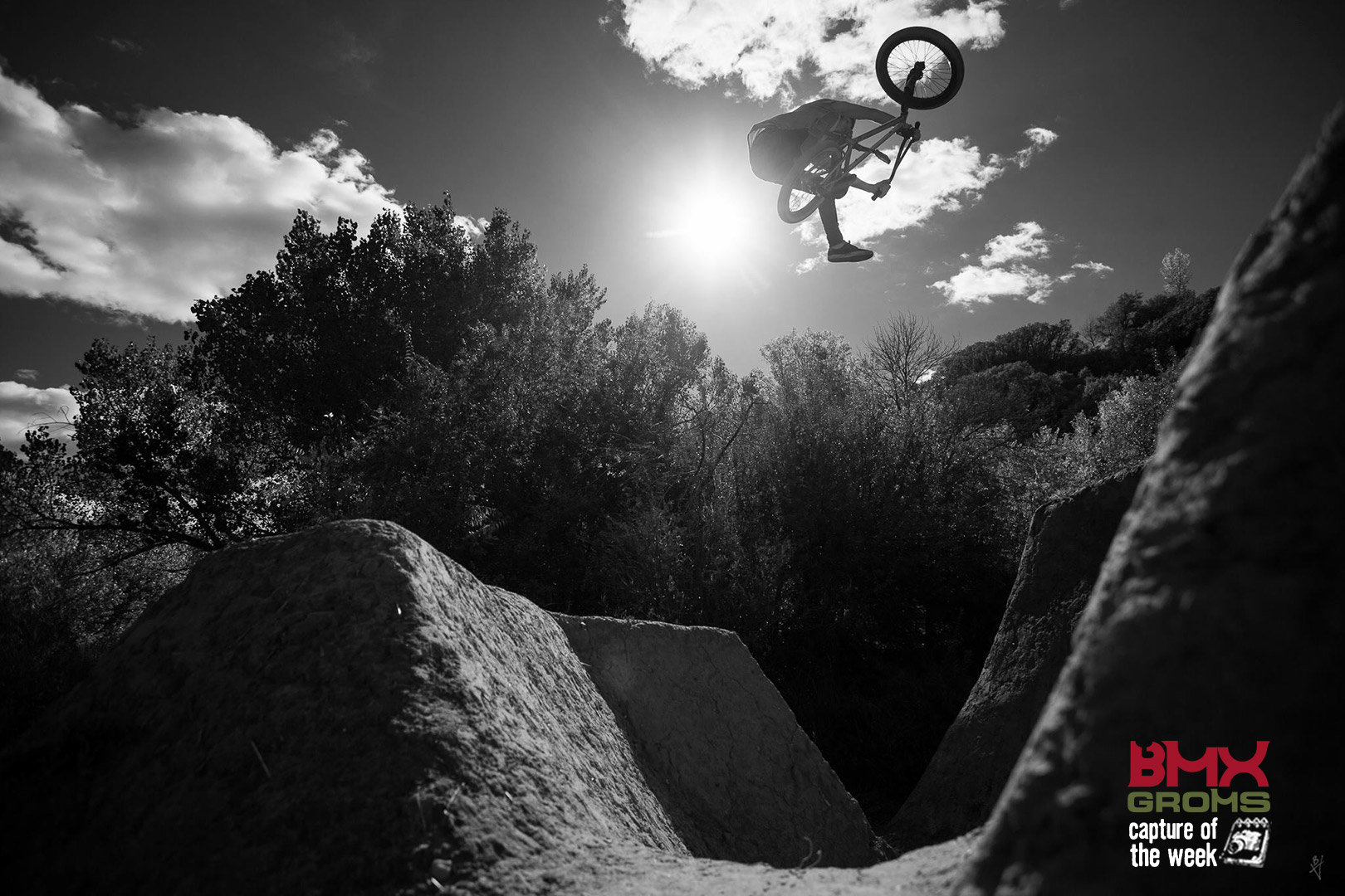 Caden Roberts 1 footed euro table - bmx groms picture of the week.