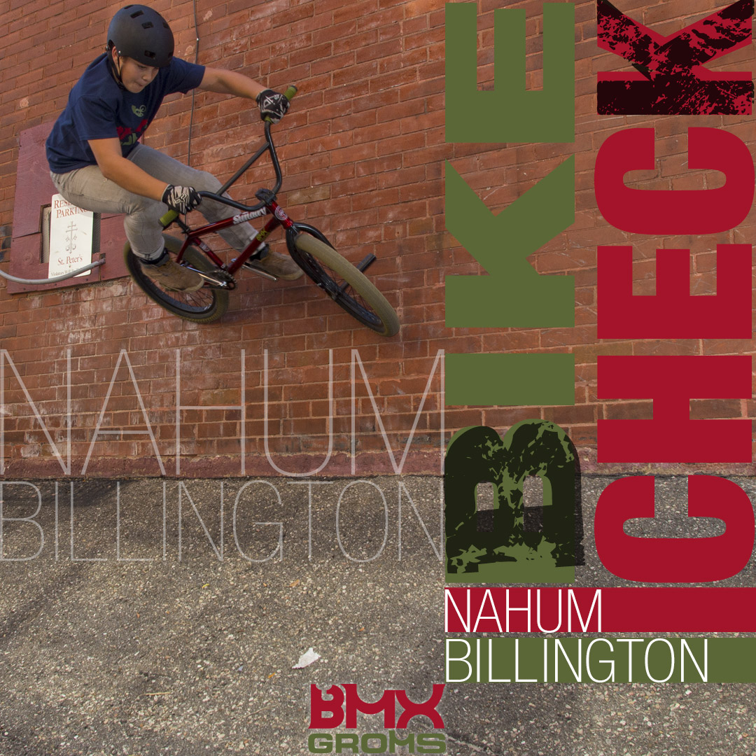 "Nahum Billington 20"" Sunday Radocaster BMX Bike Check"
