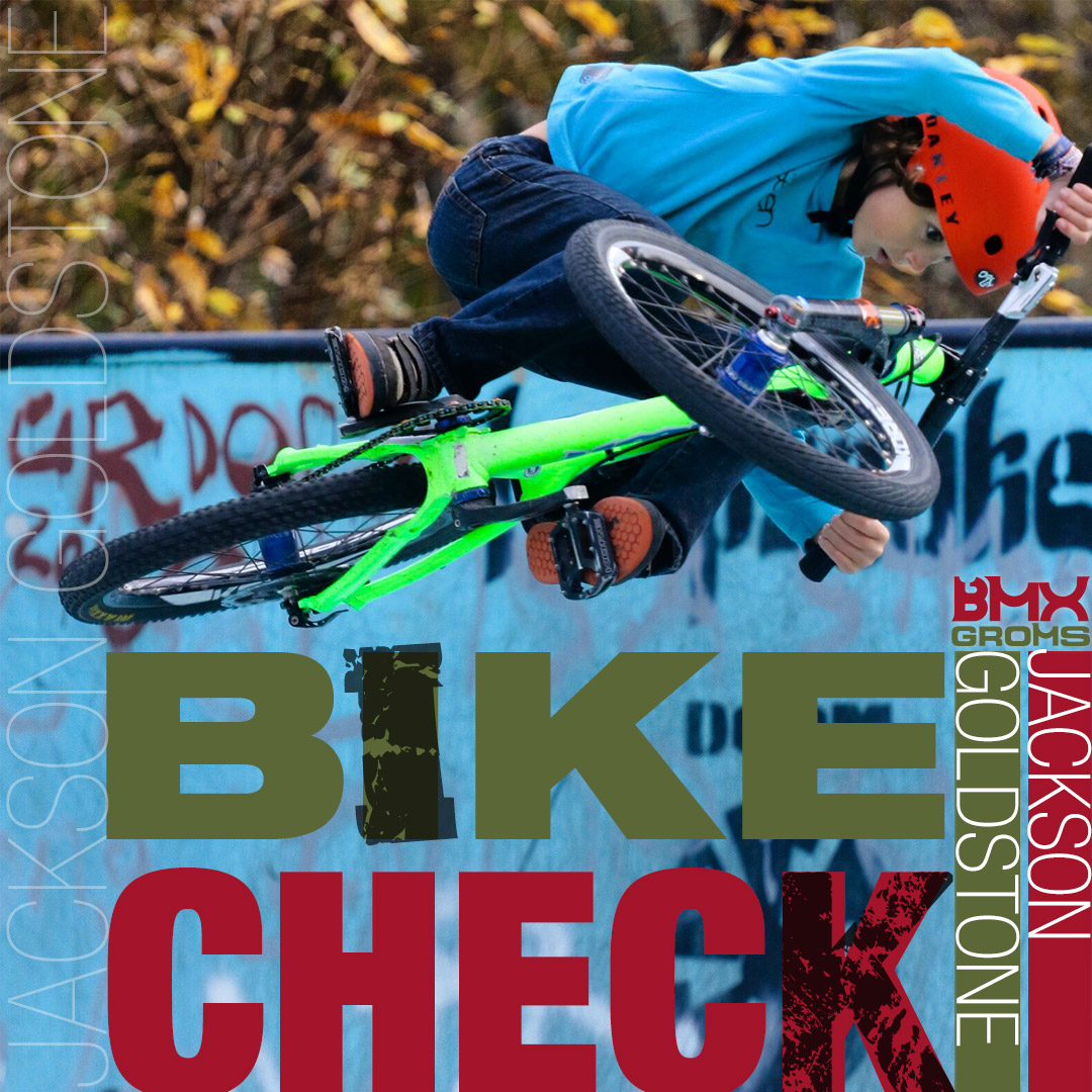Jackson Goldstone MTB Spawn Cycle Bike Check and Grom Interview