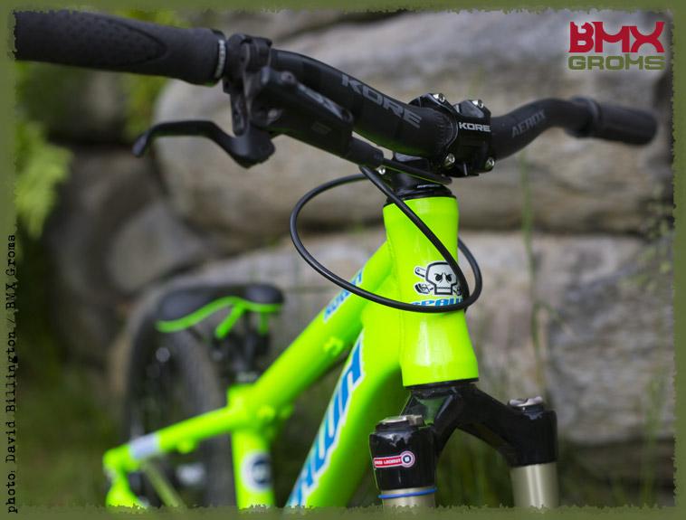 Jackson Goldstone Spawn Bikes MTB Front View