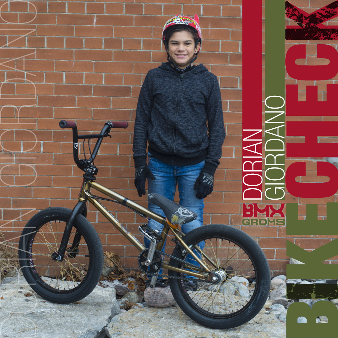 Dorian Giordano 18 inch BMX Bike Check Laird Build
