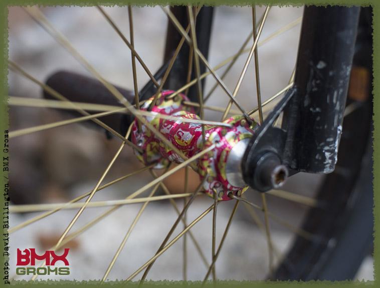 Dorian Giordano BMX Bike Check Front Hub