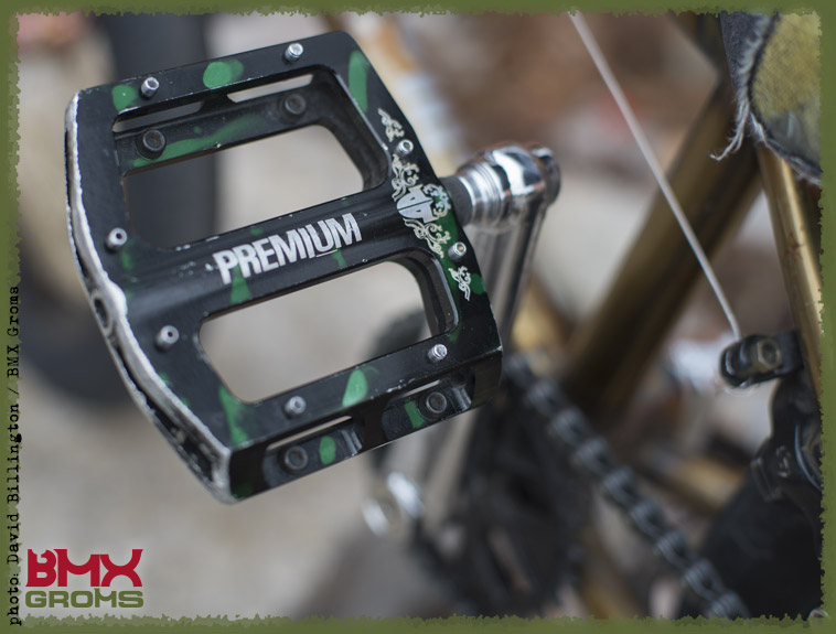 Dorian Giordano BMX Bike Check Premium Pedal