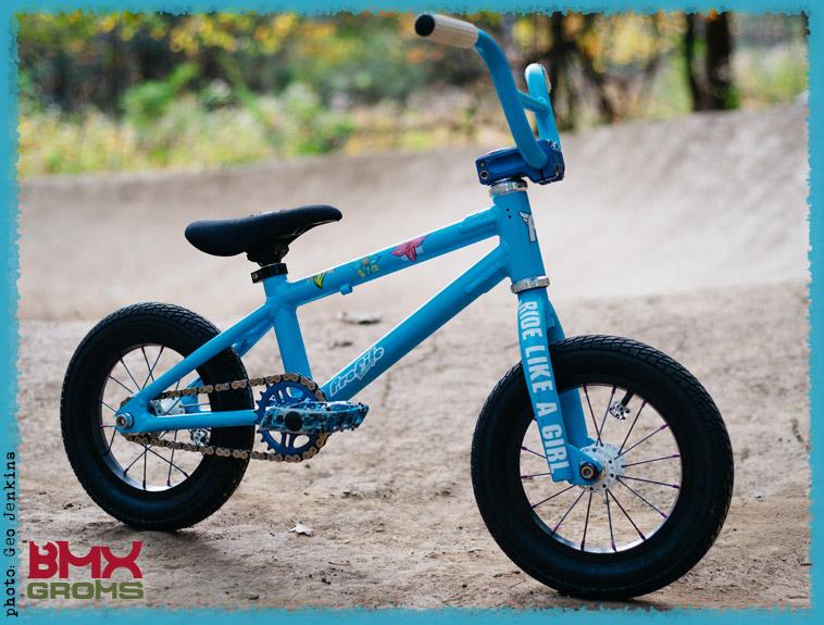 Kaci Halahan 12 Inch Cult Juvi BMX Bike Check