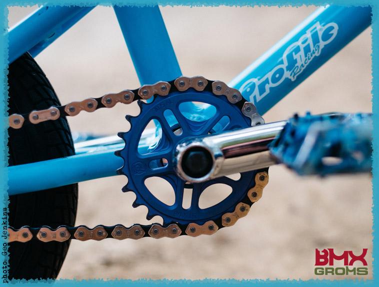 Kaci Halahan 12 Inch Cult Juvi BMX Bike Check Drivetrain