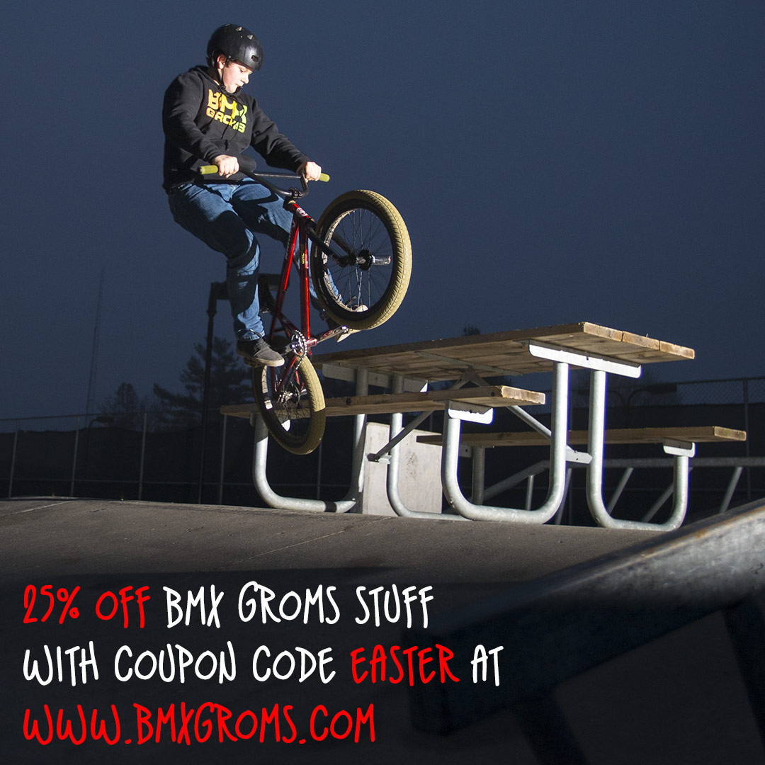 BMX Groms Easter Sale
