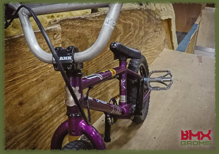 Jensen Anders 14 inch Blank BMX Bike Check