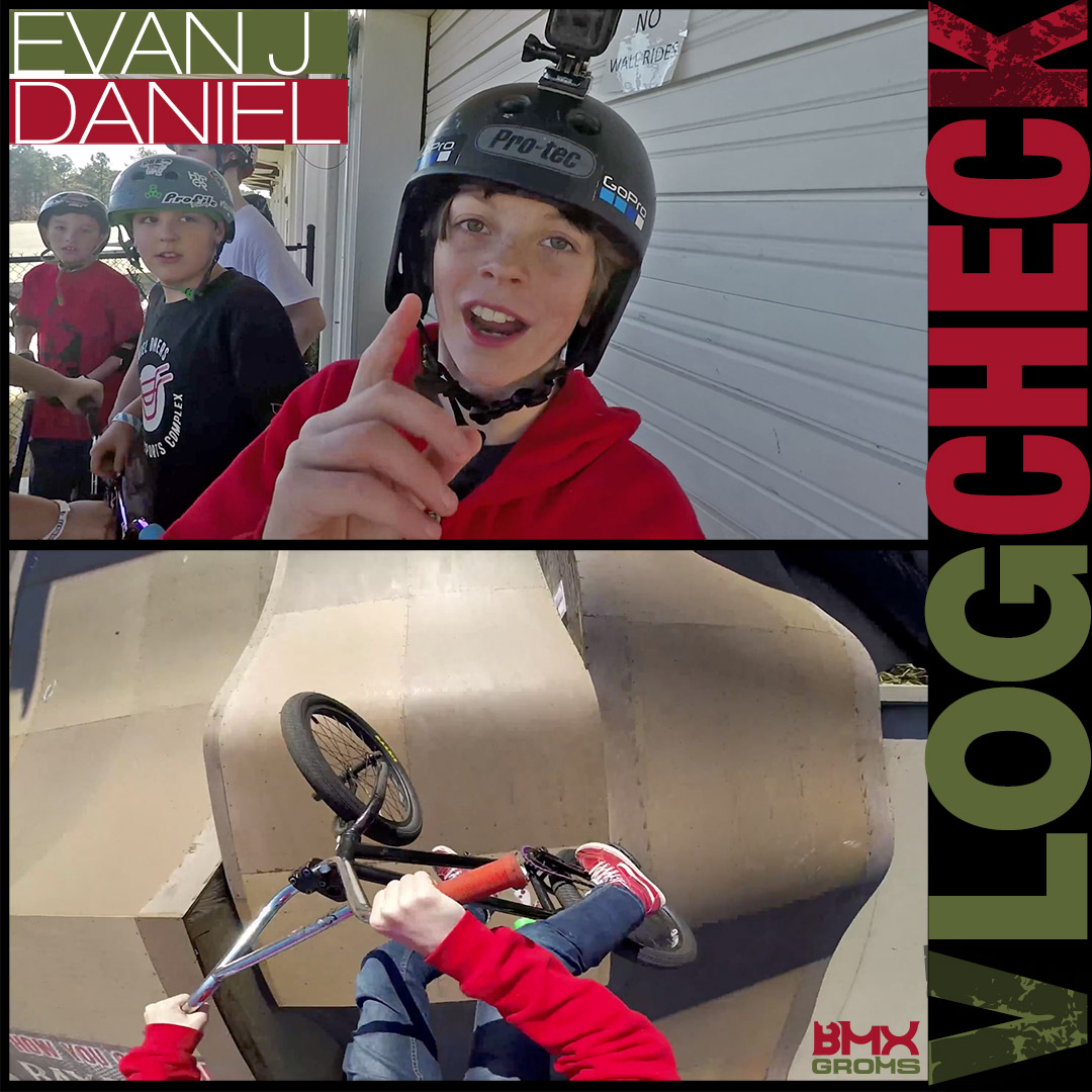 Evan Daniel Vlog and BMX Webisode Equipment Check