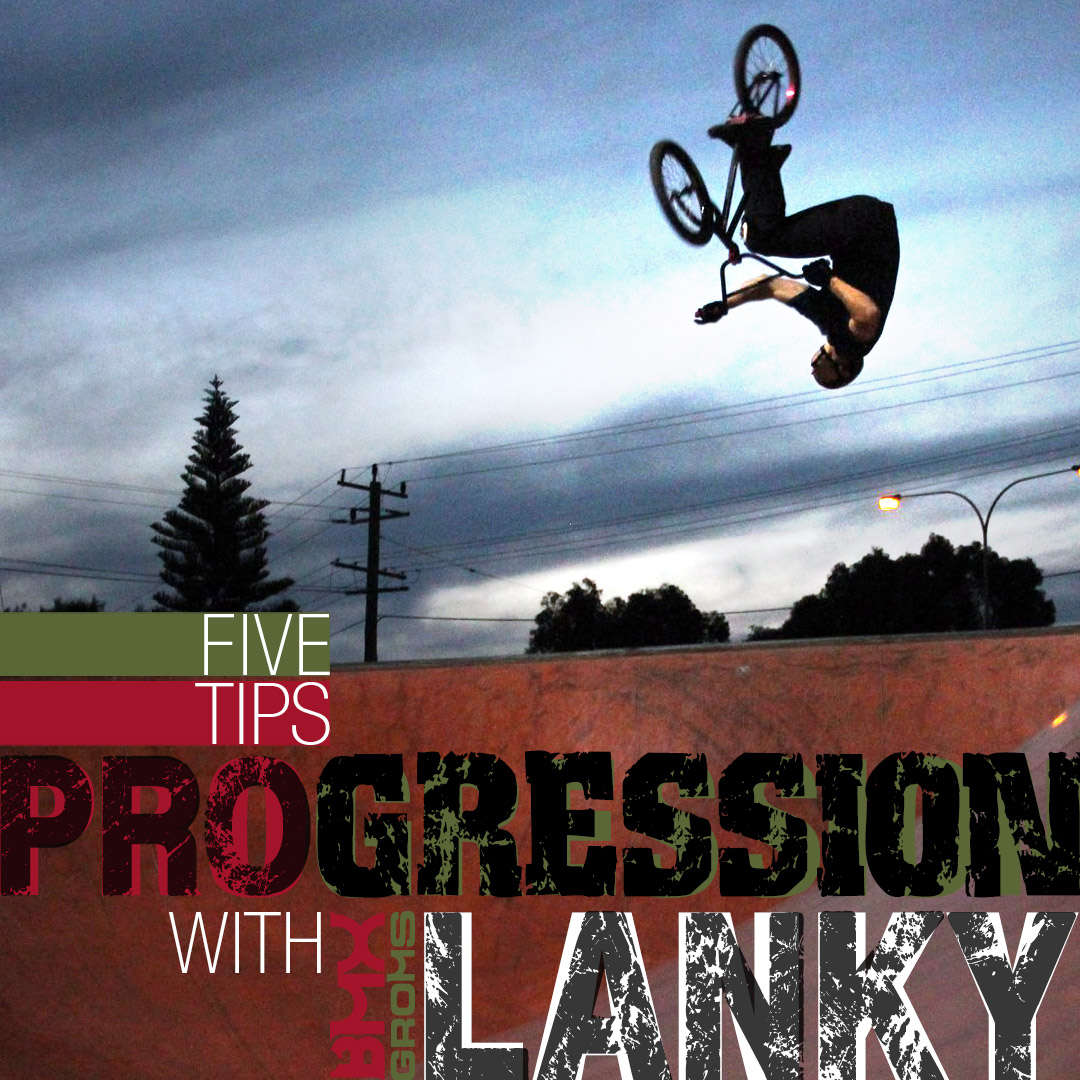 BMX progression with Nathan Lanky Philps