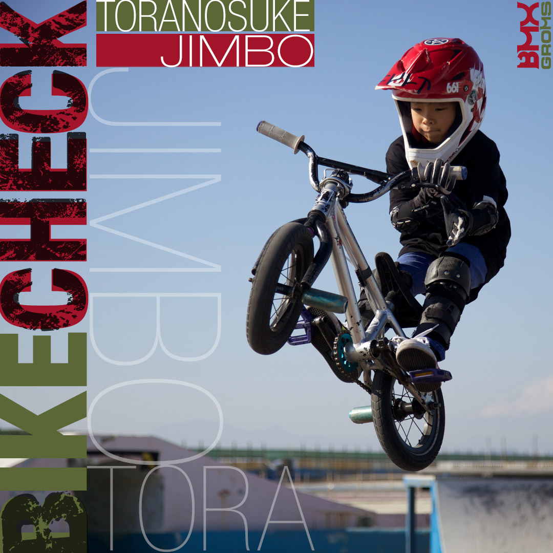 """Toranosuke Jimbo Cult Juvenile 12"""" Bike Check"""