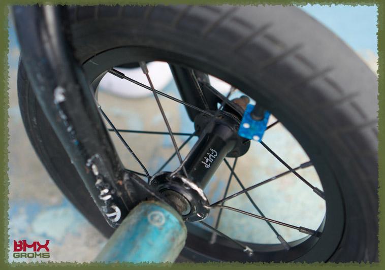 "Toranosuke Jimbo Cult Juvenile 12"" Bike Check Cult Forks"