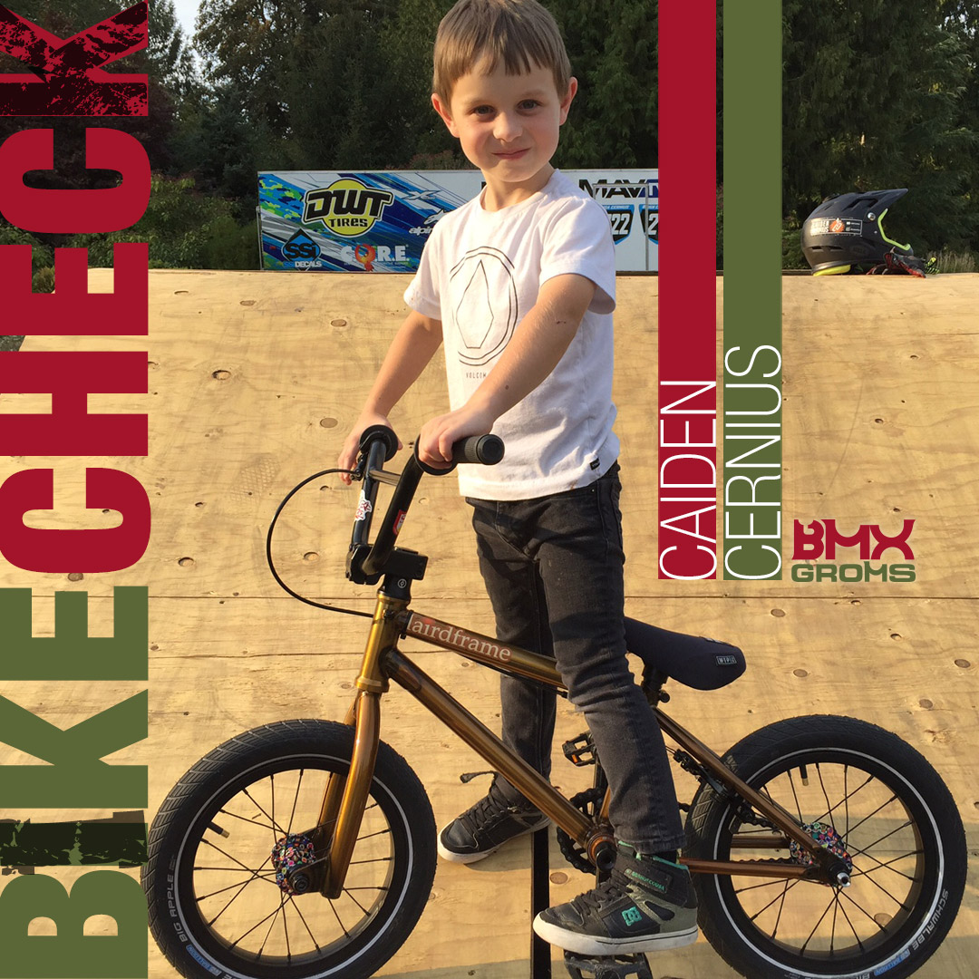 BMX Bike Check with 6 Year Old Caiden Cernius