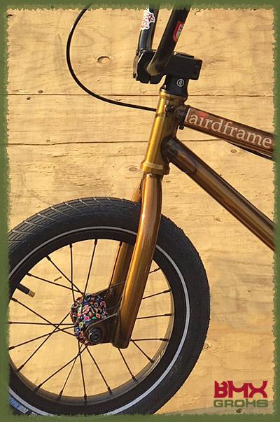 Caiden Cernius BMX Bike Check 14 inch detail