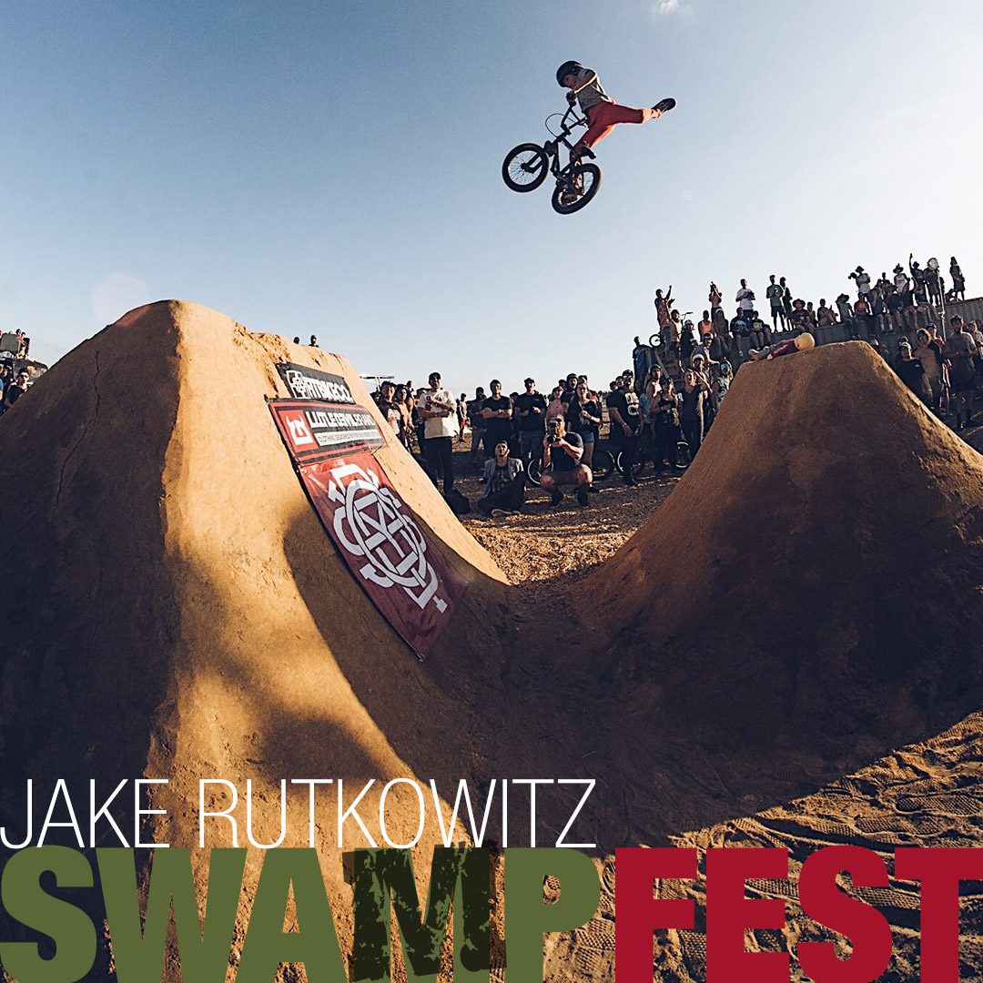 BMX Grom Jake Rutkowitz Blasting a Huge One at Swamp fest BMX JAM in Florida