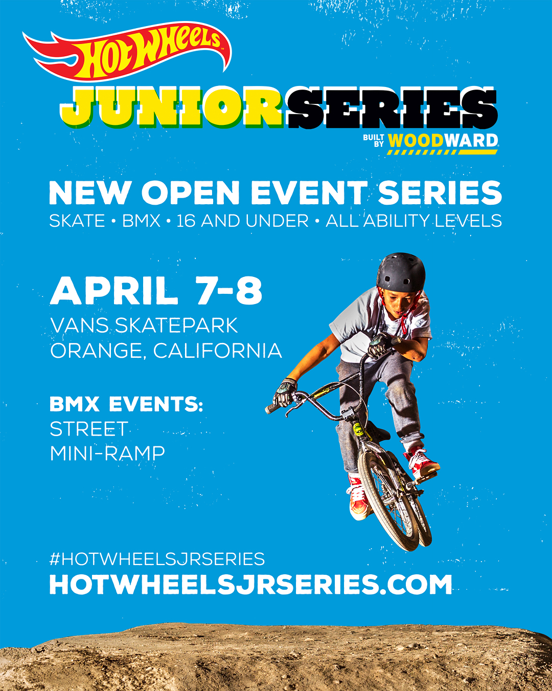 Hot Wheels Woodward Junior BMX Contest Series