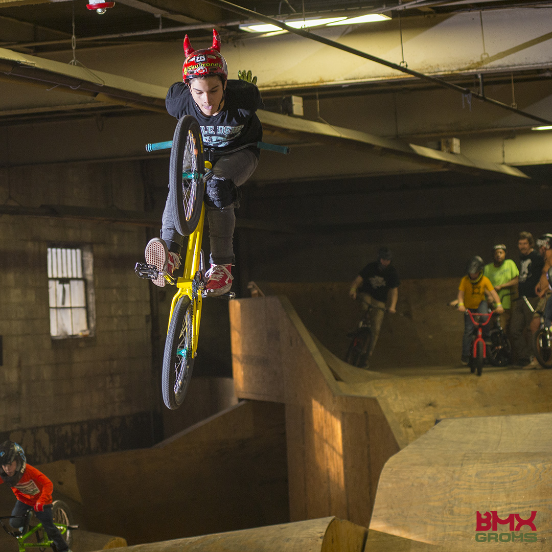 Next Generation BMX Jam 2018 Woods Jump Room Jam Tuck No Hander