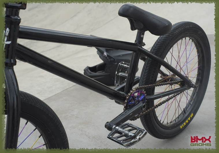 BMX Bike Check Kehler Drive Train