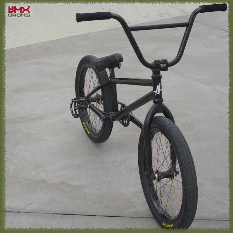 Kehler BMX bike-check front view.