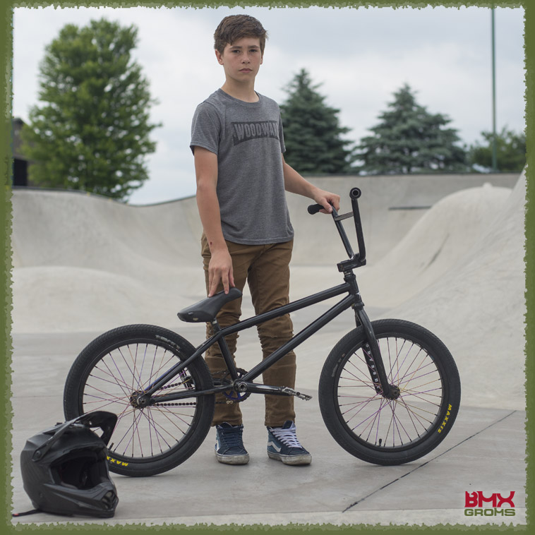 Kehler Colon, Colony BMX Bike Check