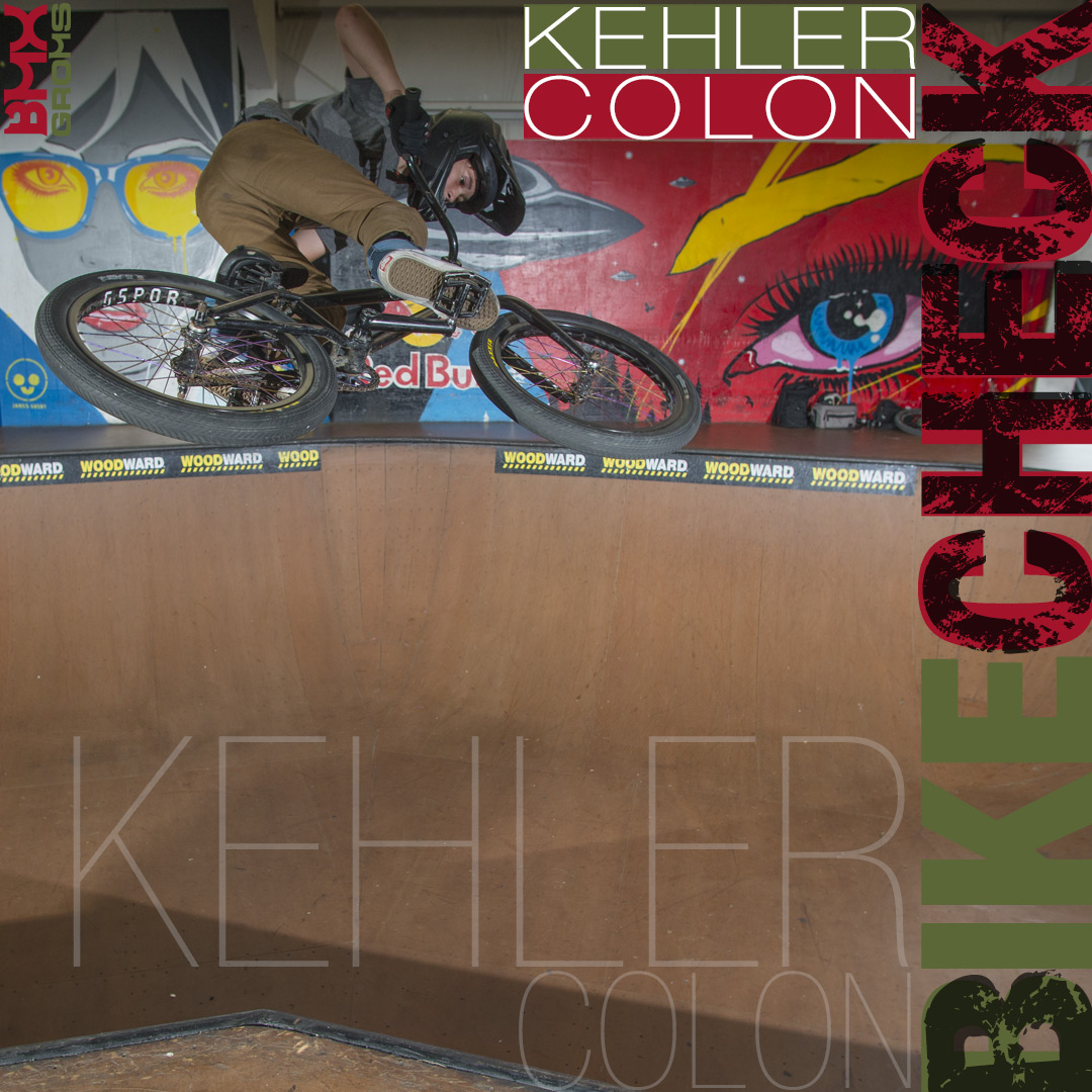 Kehler Colon, 14 Year Old BMX Rider Bike Check