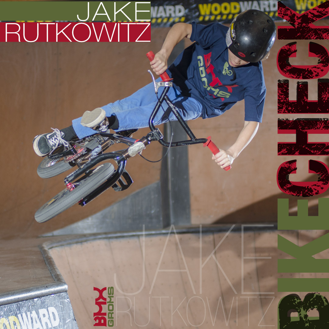 "Jake Rutkowitz 16"" BMX Bike Check"
