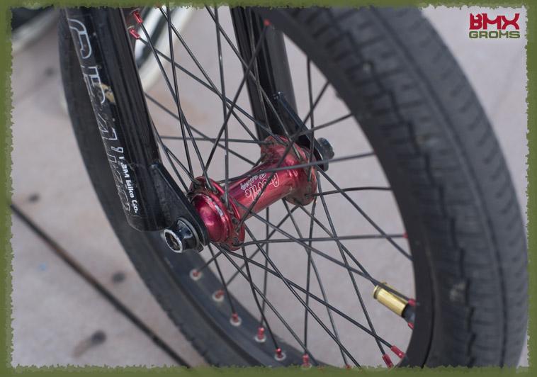Jake Rutkowitz 16 Inch FBM Bike Check Front Hub